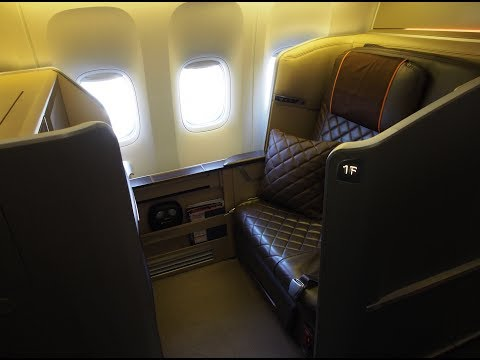Singapore Airlines First Class (Mini-Suite) - Tokyo (Narita) to Singapore (SQ 11) - Boeing 777-300ER