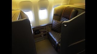 Top 10 Airlines - Singapore Airlines First Class (Mini-Suite) - Tokyo (Narita) to Singapore (SQ 11) - Boeing 777-300ER