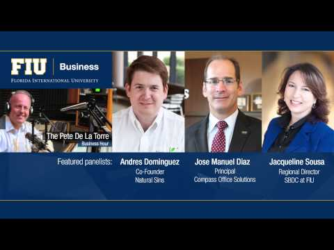 Pete de la Torre Business Hour with Andres Dominguez, Jose Manuel Diaz and Jacqueline Sousa