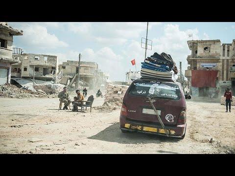 Güvenli liman Bab savaş mağdurlarına kucak açıyor