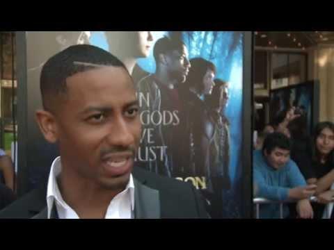 "Percy Jackson: Sea of Monster: Brandon T Jackson ""Grover Underwood"" Premiere Interview"