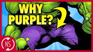 Why Does HULK Wear PURPLE PANTS?! || Comic Misconceptions || NerdSync