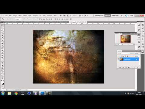 How to add textures to Objects in Photoshop