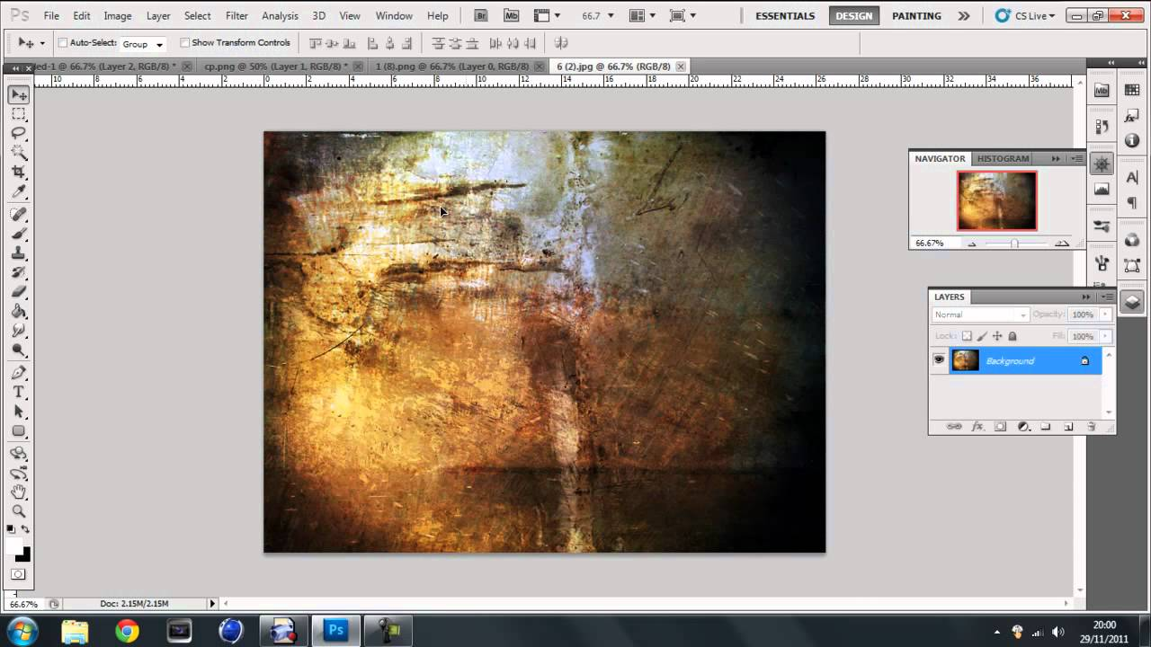 How to Add Textures to Photos in Photoshop - PHLEARN