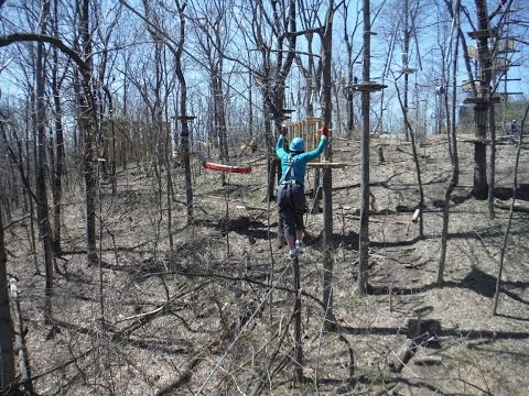 Adventure Park Obstacle Course, Harpers Ferry West Virginia
