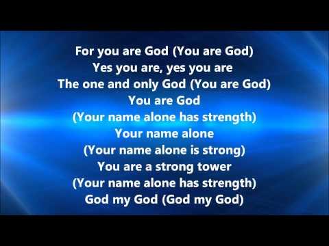 Vashawn Mitchell - God My God (Lyrics)
