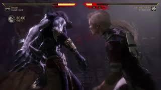 Mortal Kombat 11 Cassie Cage vs Kollector