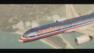 FS2004 - American Airlines Flagship  Landing In New York JFK