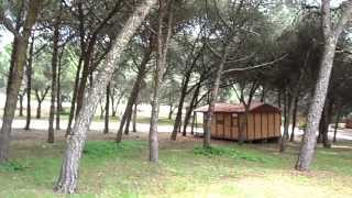 Camping  Lisboa Monsanto - Bungalows.MP4