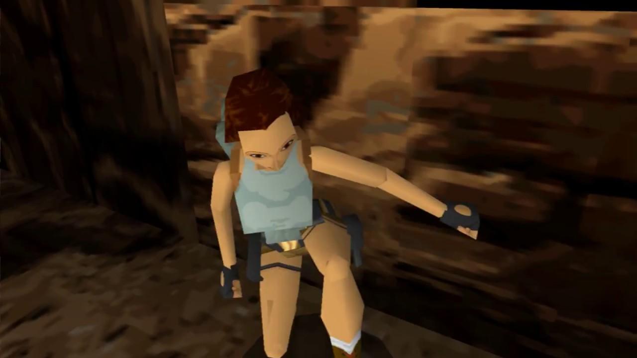 Tomb Raider 1 Pc Vs Playstation Comparison 1 Youtube