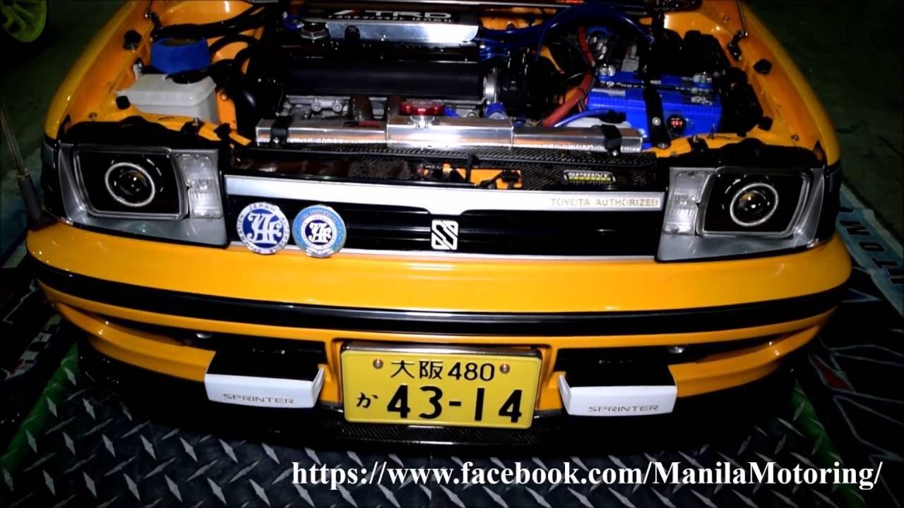 Wild Modified Toyota Corolla Ae92