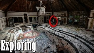 Exploring ABANDONED PLAYBOY MANSION! (Crazy Indoor Pool!)