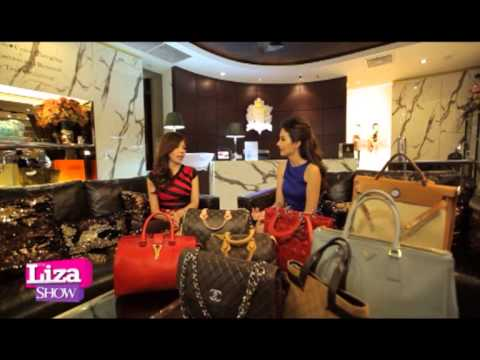 THE LIZA SHOW tape 21 My Bag Spa Thailand สปากระเป๋าหนังแบรนด์เนม แบบครบวงจร