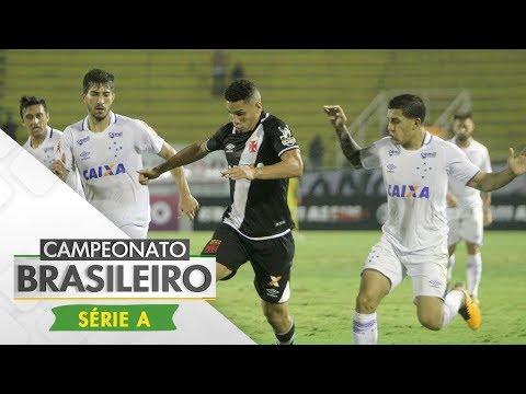 Melhores Momentos - Gols de Vasco 0 x 3 Cruzeiro - Campeonato Brasileiro (03/08/2017)