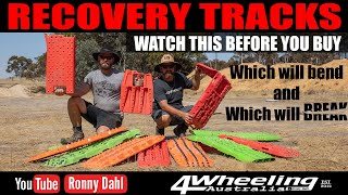 Which is the best 4x4 Recovery Tracks