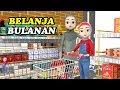 Menemani Ibu Belanja Di Supermarket Dan Bermain Basket   Kartun 2019 #Episode33 KAKINA
