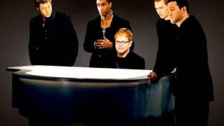 Elton John and blue - Sorry Seems To Be The Hardest Word - with Lyrics