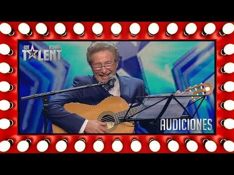 Cumple el sueño de su vida a los 72: cantar en un escenario | Audiciones 2 | Got Talent España 2018