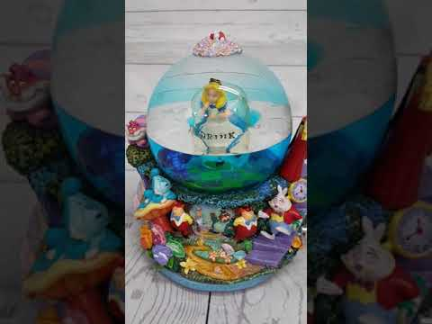 Disney Alice in wonderland globe