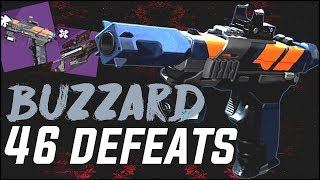 The New Buzzard Ritual Sidearm in PvP... | Is it Worth it?