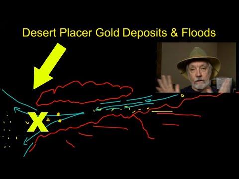 Desert Flood Placer Gold Deposits (Desert Gold Prospecting)