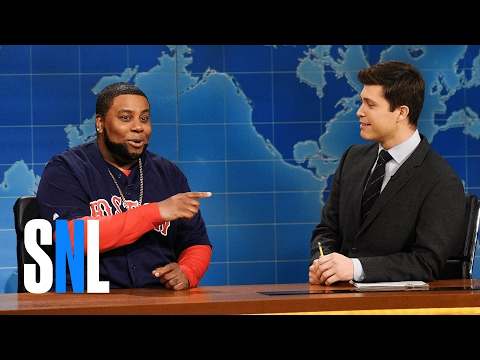 Weekend Update: David Ortiz on the Super Bowl - SNL