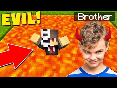 LETTING MY BROTHER CONTROL MY MINECRAFT SERVER FOR 24 HOURS! thumbnail
