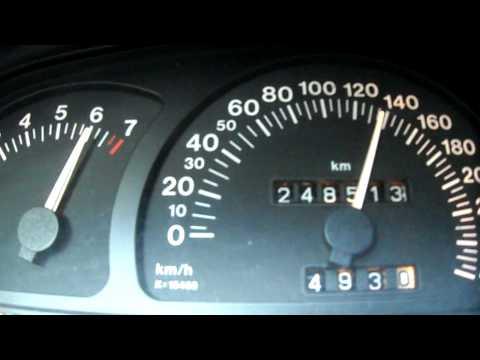 Opel Calibra V6 c25xe 0-200 km/h