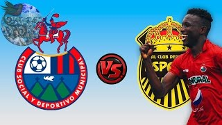 Municipal 3 - 0 Real España   CCL 14/15 - Fase de Grupos