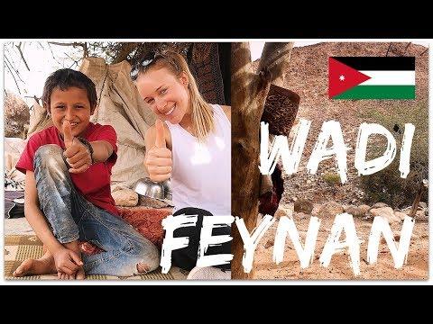 TRAVEL DIARY: WADI FEYNAN, JORDAN!