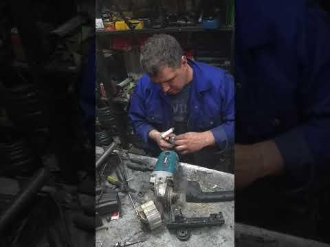 Ремонт УШМ Макита 9069  - меняем якорь+статор