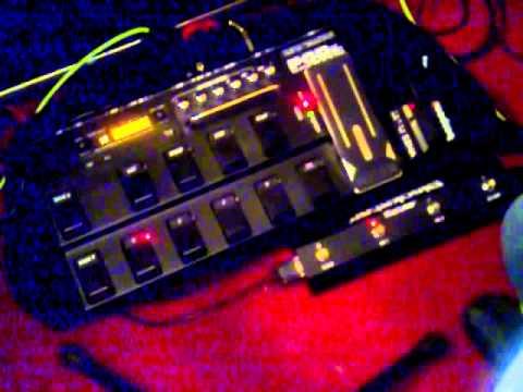 Pod xt live demo,through Blackstar amps