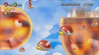 Let's Play New Super Mario Bros. U Partie 17 - Les secrets du Royaume Champignon