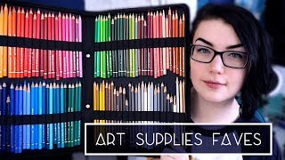 10 Art Supplies I Can't Live Without | Favourites