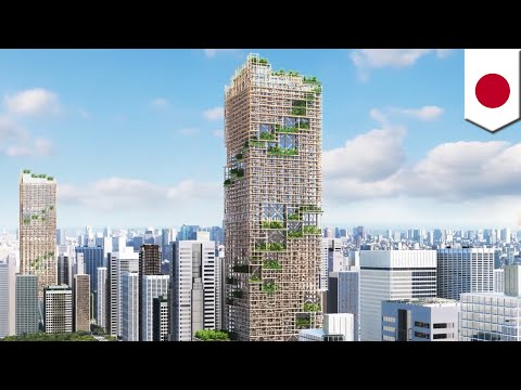 Tallest wooden building in the world for planned for construction in Tokyo, Japan - TomoNews