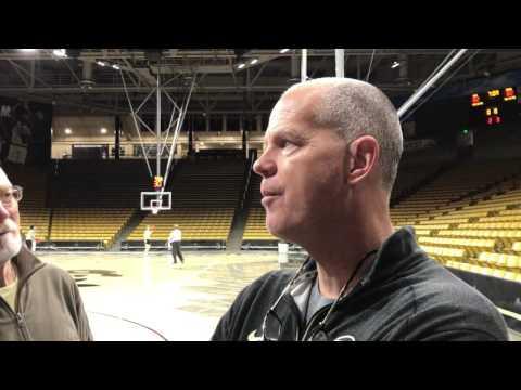 Tad Boyle 11/9 Post Practice Interview