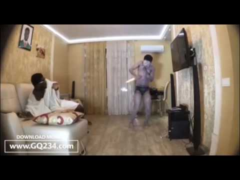 comedy video CrazeClown ft  Tegaa – Even Ghosts Feels Afro Beat www GQ234 com1
