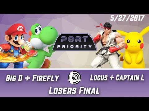 Port Priority - Big D + Firefly Vs. Locus + Captain L - Losers Final