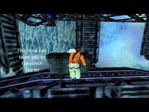 Tomb Raider 3 Antarctica - RX-Tech Mines Walkthrough HD