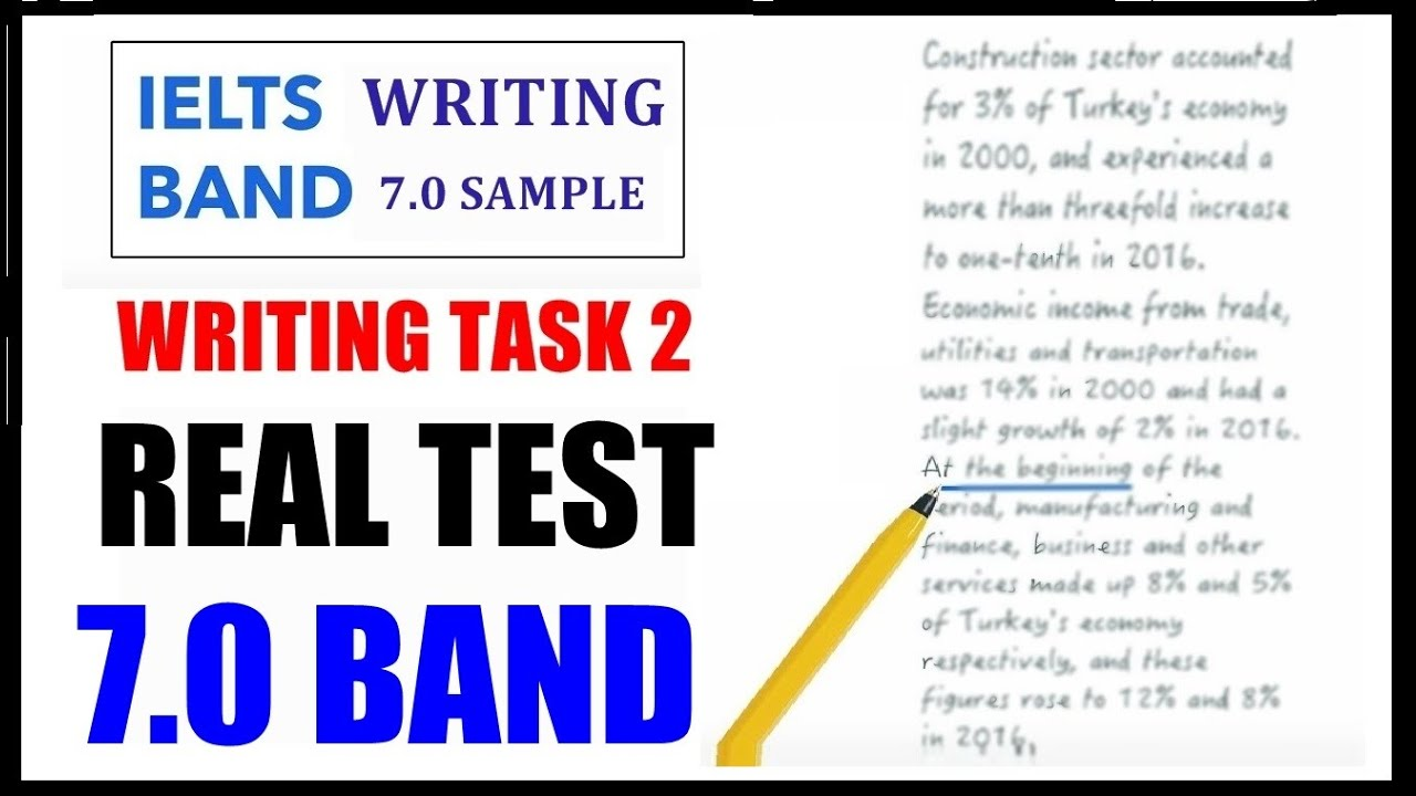 IELTS Writing Task 2: Opinion Essay 7.0 Band Sample