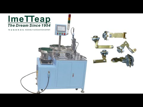Automated Electric Contact Loading|Tranporting| Seperating|Positioning|Screwing Assemble Machine