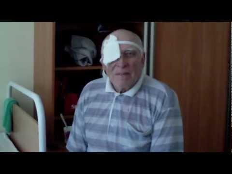 После операция на глаза (и смех и слёзы)