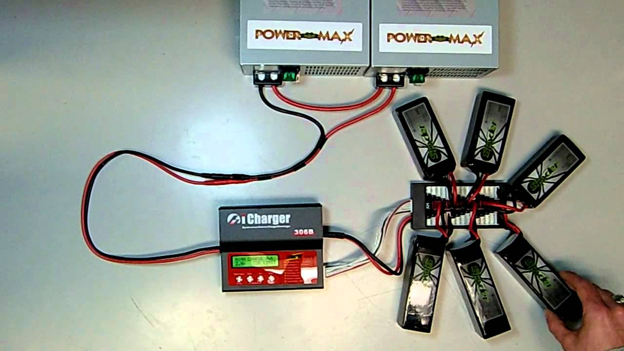 parallel charge board demonstration youtube rh youtube com wiring an on board battery charger Golf On Board Car Charger