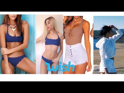 China Bikinis De Barata Haul Wishropa Youtube IyvmgYb76f