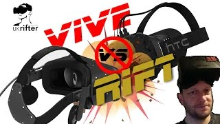 I tried Oculus Rift CV1 & HTC Vive - My first impressions - UKRifter