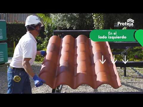 Instalación Proteja Teja Colonial con Caballete Articulado