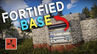 FORTIFYING my BASE with the most IMPORTANT UPGRADE! - Rust Solo Survival #4