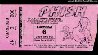 "Phish - ""The Moma Dance"" (Molson Amphitheatre, 7/6/00)"