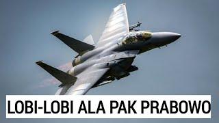 MANUVER MENHAN BELI F-15 EAGLE II GUNAKAN PELOBI YANG SANGAT BERPENGARUH DI AS