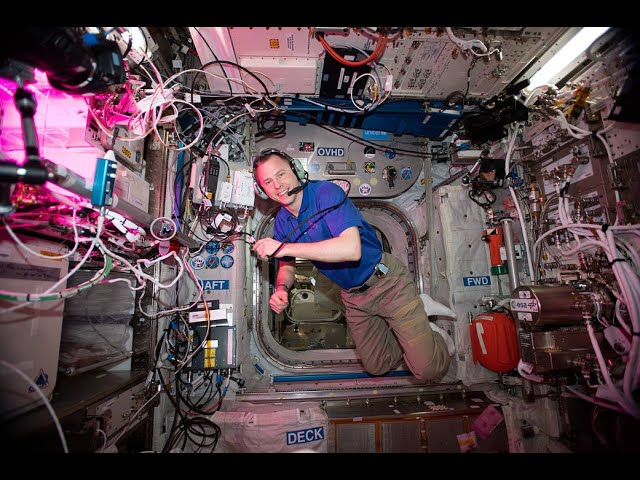 Fort Meade Students Talk to an Astronaut